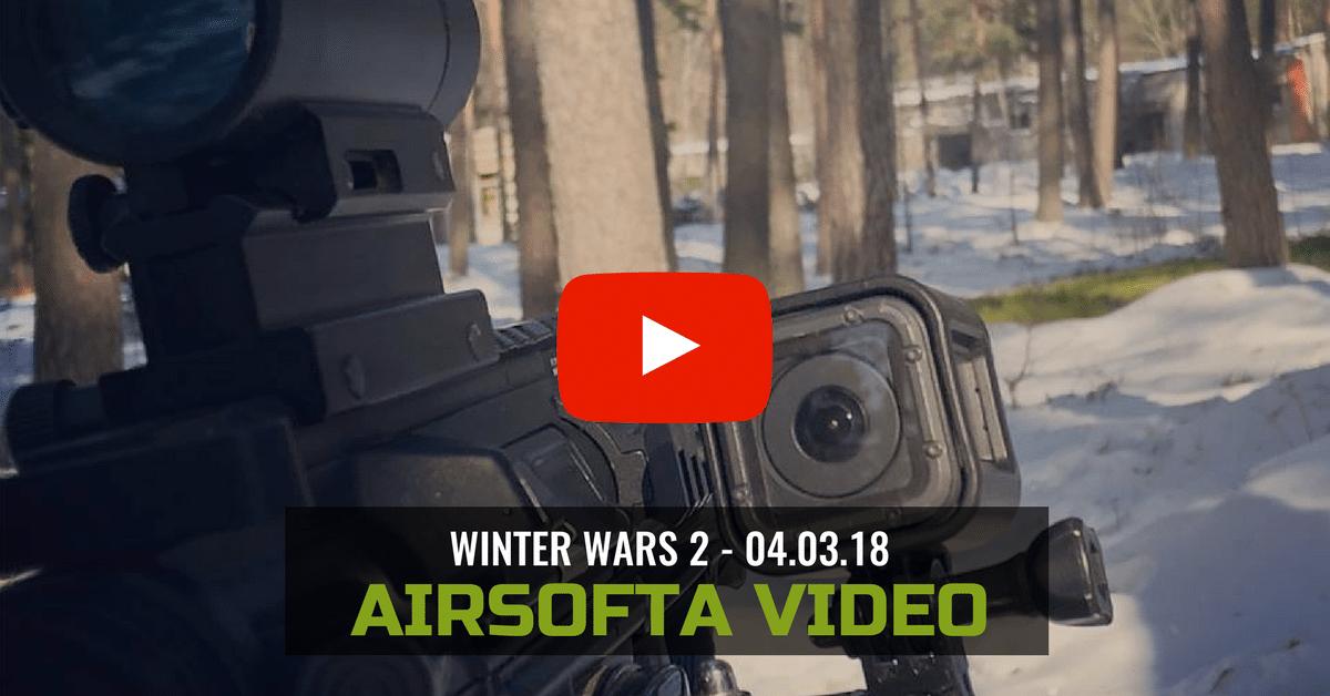 Airsofta Spēles Video Atskats - Winter Wars 2 | STREELNIEKS.LV