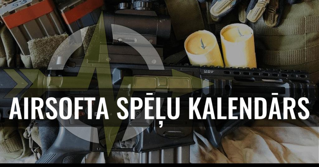 Latvijas airsoft spēļu kalendārs | STREELNIEKS.LV