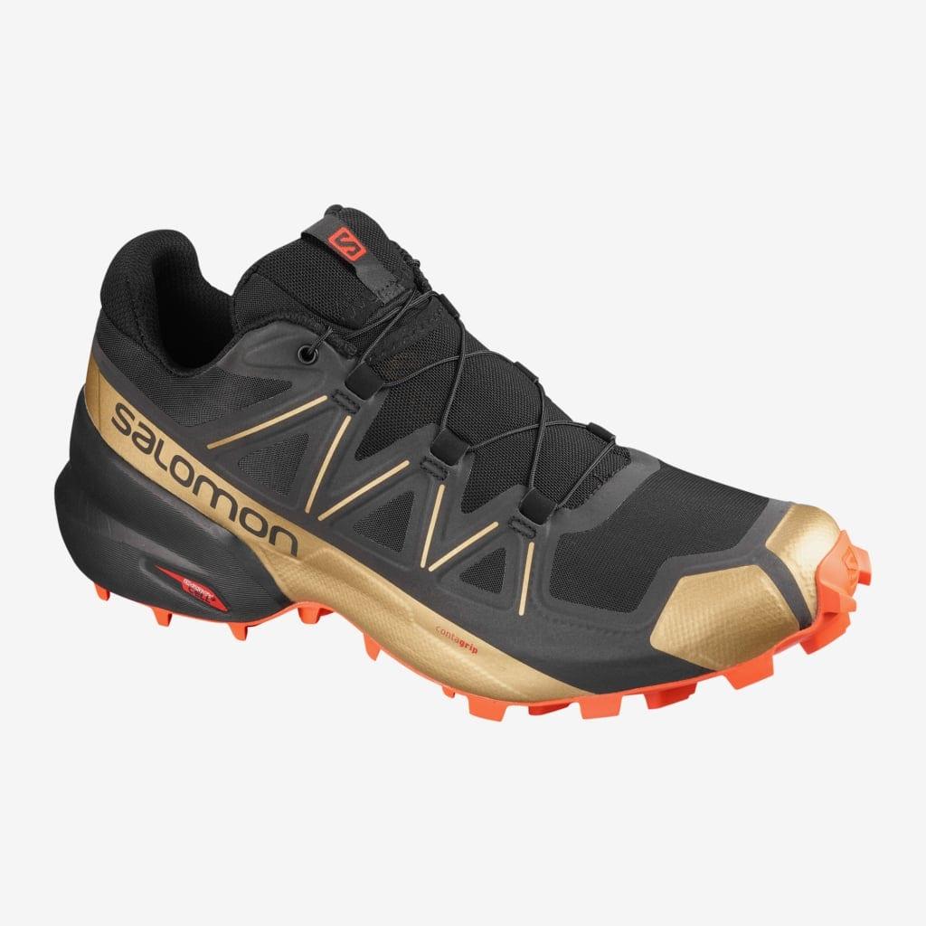 Vieglie pārgājienu apavi - Taku Skriešanas apavi Salomon Speedcross 5