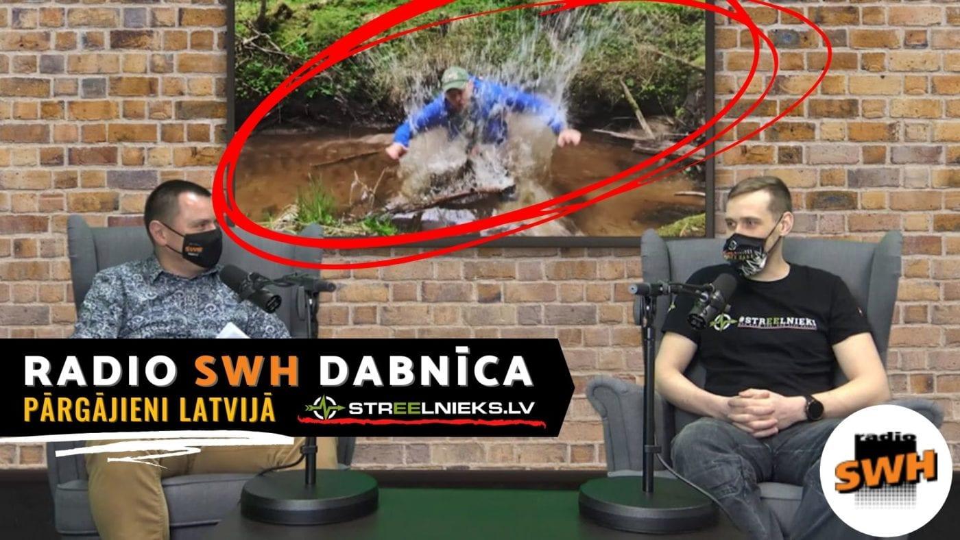 Radio Swh Dabnīca - Pārgājieni Latvijā - Mārtiņš Muižnieks